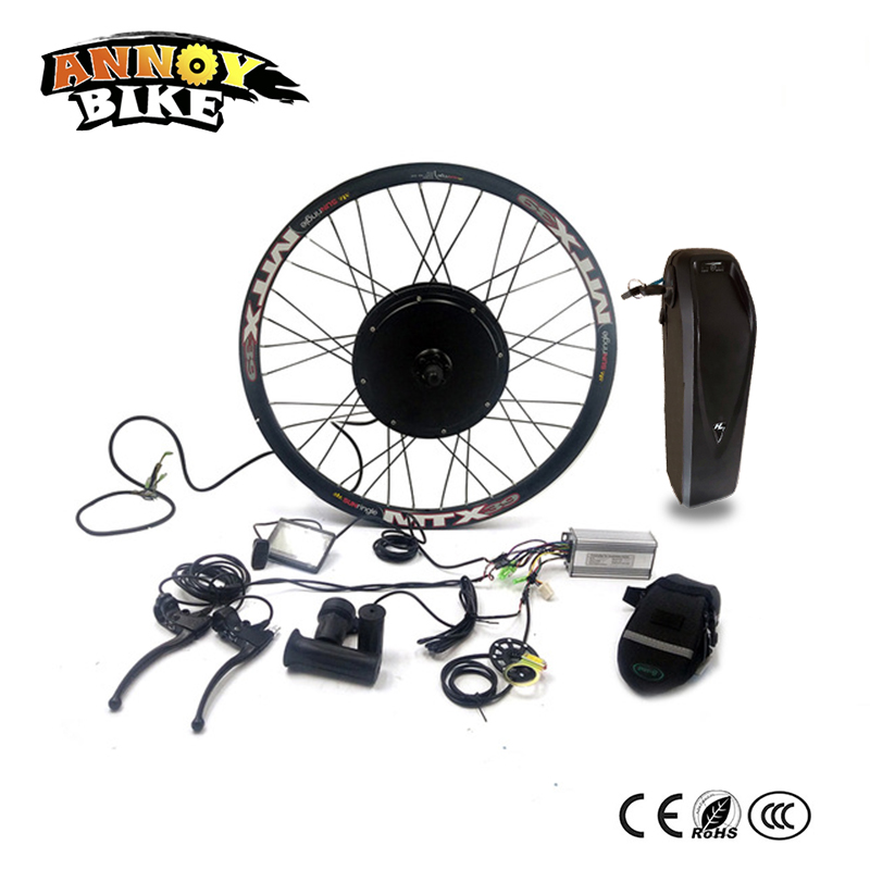 36V500W Bicicleta Electrica Electric Motor With Battery 16-28 inch Ebike Kit Electric Bike Conversion Ebike Motor Conversion Kit