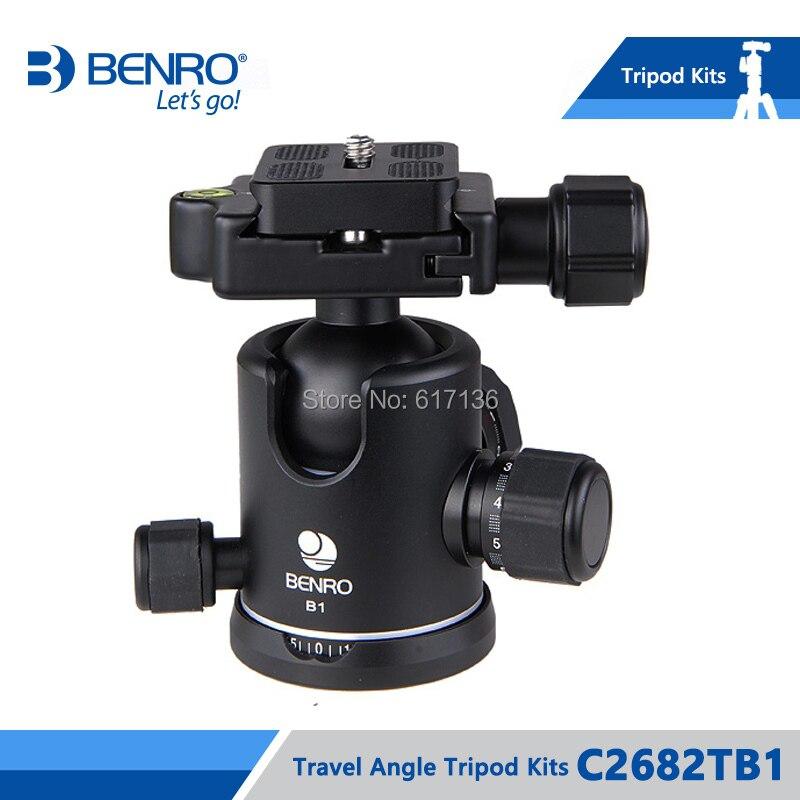 Benro C2682TB1 ขาตั้งกล้องคาร์บอนไฟเบอร์ขาตั้งกล้อง Monopod สำหรับกล้อง B1 หัวกระเป๋าถือโหลดสูงสุด 12 กก.DHL จัดส่งฟรี-ใน ขาตั้งกล้องถ่ายทอดสด จาก อุปกรณ์อิเล็กทรอนิกส์ บน AliExpress - 11.11_สิบเอ็ด สิบเอ็ดวันคนโสด 3