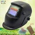 Замененный литий-ионный аккумулятор  полностью черный сварочный шлем MIG TIG  автоматическая Затемняющая Сварочная маска  шлифовальная регул...