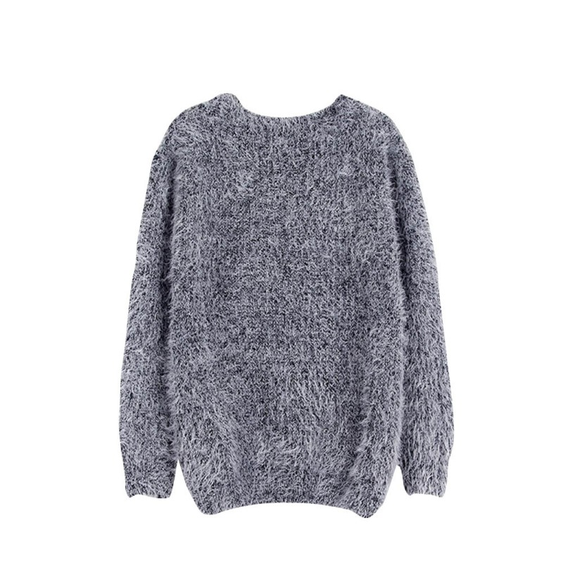 High Female Sweater Women O-neck Solid Pullover Candy Color Sweater Ladise Sweater Woman Fashion Plus Size Sweater clothes