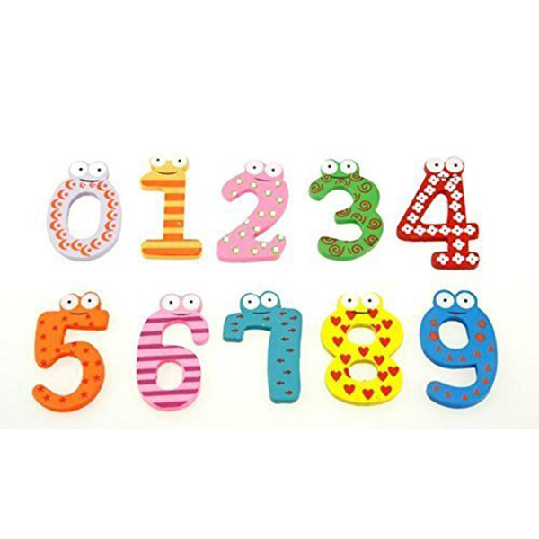 16pcs wooden magnetic numbers letters set alphabet refrigerator magnets kids educational toyschina mainland