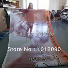 Free Shipping Vinyl Mesh Banner Fence Mesh Banners (with custom printing)