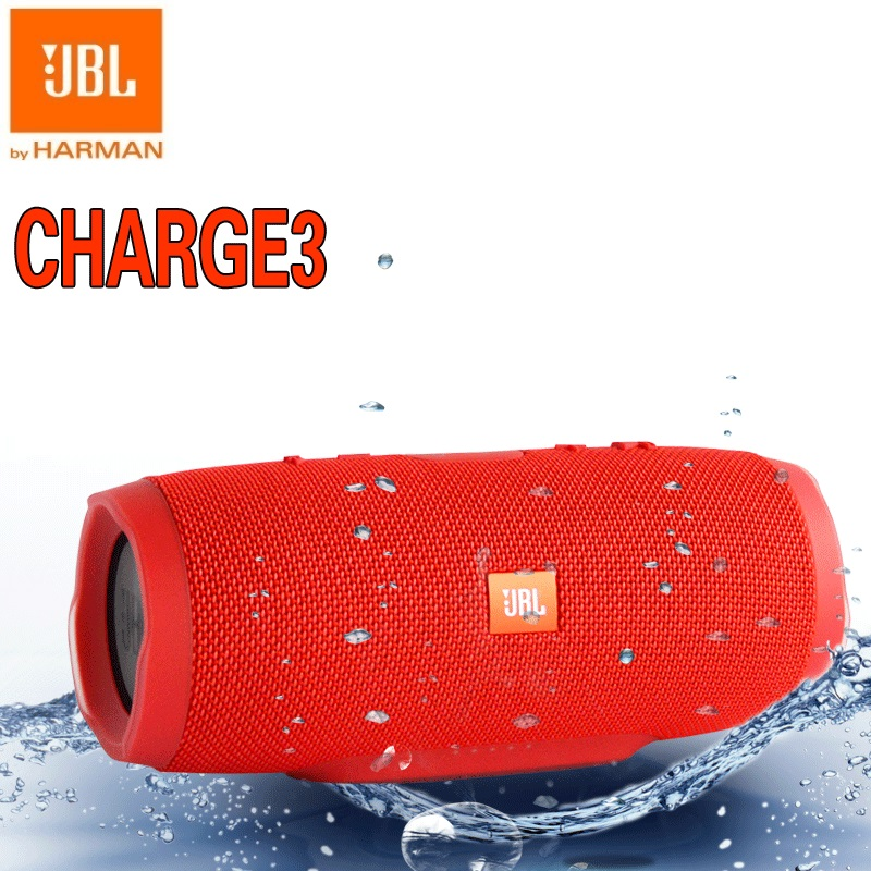 New Original JBL Charge3 IPX7 WaterProof Mini Portable Bluetooth speaker with power bank pk charge 2 pulse 2 CHR2+ jbl xtreme portable bluetooth speaker blue