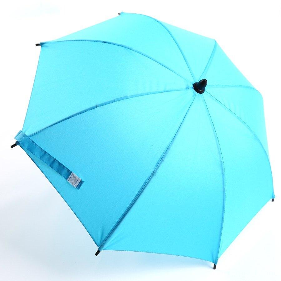 Universal Sun Rain Parasol Umbrella Baby Pram Pushchair Canopy colour New