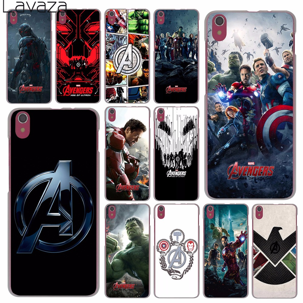 Lavaza Marvel Comics is The Avengers Case for Lenovo Vibe K3 K4 K5 K6 Note A1000 A2010 A5000 A536 A328 S90 S850 S60 X3 Lite P1