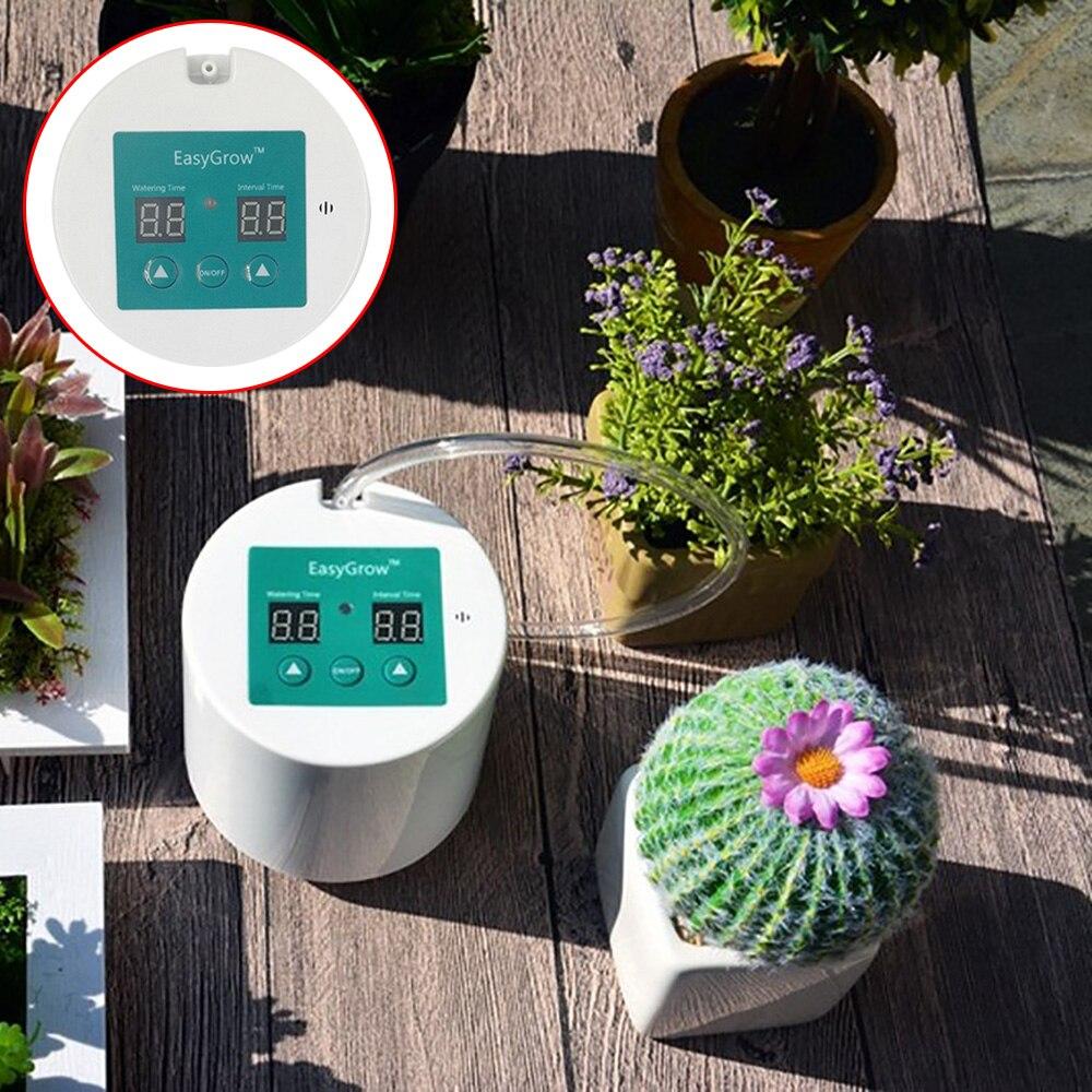 Garten Automatische Bewässerung Gerät Sukkulenten Anlage Intelligente Tropf Bewässerung Werkzeug Wasserpumpe Timer mit Solar System Controller