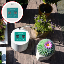 Intelligent Garden Automatic Watering Device Succulents Plant Drip Irrigation Tool Water Pump Timer with System Controller Drip