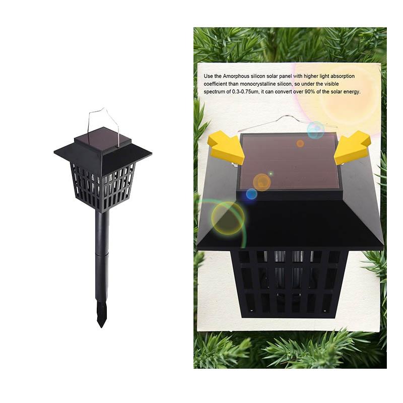 Mising AGD-11 aed päikeseenergia LED Mosqutio tapja lambi veekindel - Puhkusevalgustus - Foto 6