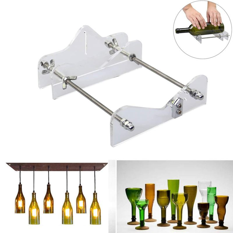 EASY-Glass Bottle Cutter Tool Professional For Bottles Cutting Glass Bottle-Cutter Diy Cut Tools Machine Wine Beer