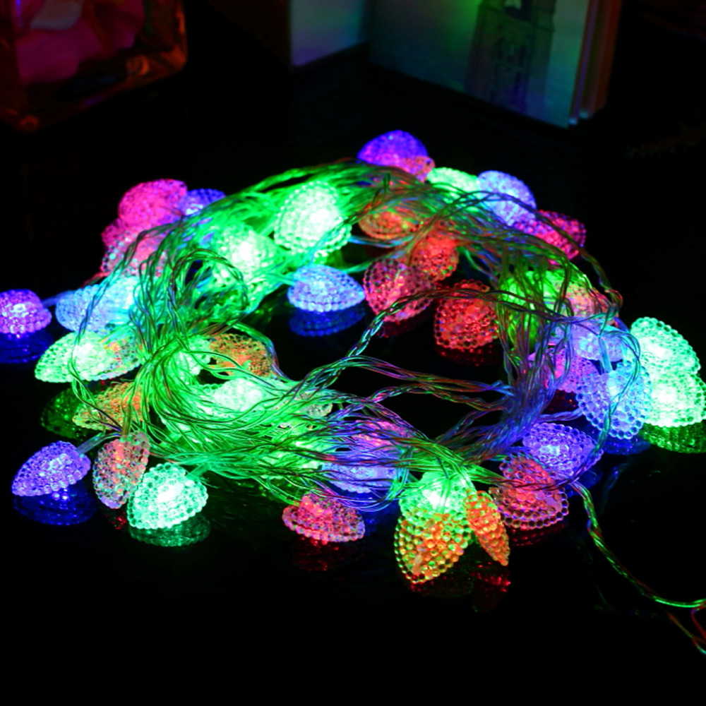 10M Fairy multicolor string Lights For Wedding Christmas Decoration 220V