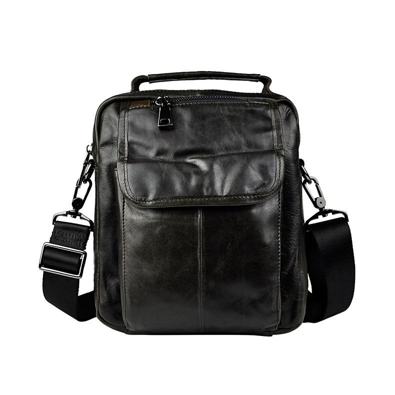New Fashion Real Leather Multifunction Male Casual messenger bag Satchel cowhide 8 Cross-body Shoulder bag Tote For Men 8808 hot vintage men canvas satchel casual cross body messenger shoulder bag