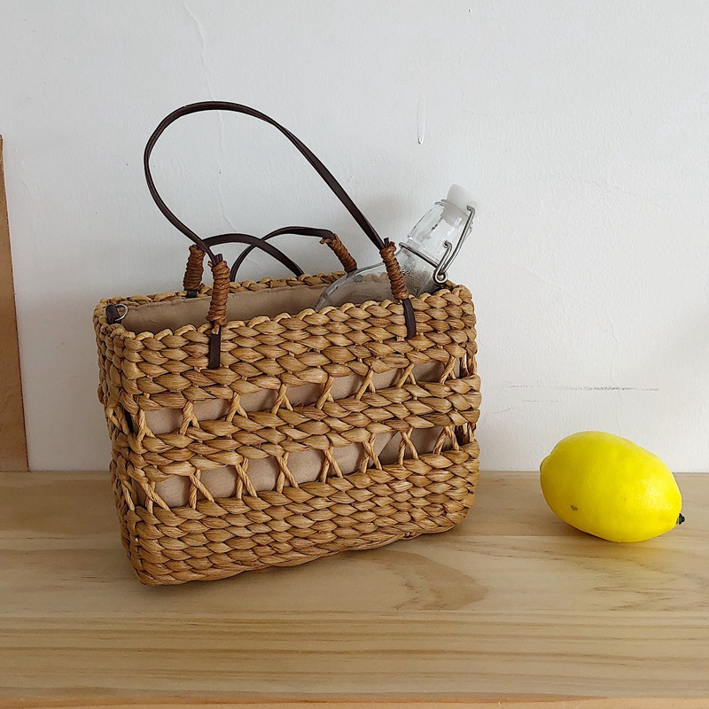 Beach Straw Bags Women Summer Handbag Rattan Square Tote Bag Handmade Bali Woven Cross Body Bag Box Bohemia big 7n544Beach Straw Bags Women Summer Handbag Rattan Square Tote Bag Handmade Bali Woven Cross Body Bag Box Bohemia big 7n544