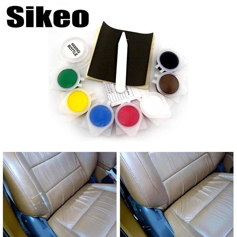 Liquid Skin Leather Auto Car Seat Sofa Coats Holes Scratch Cracks Rips No Heat Liquid Leather Vinyl Repair Kit Repair Tool