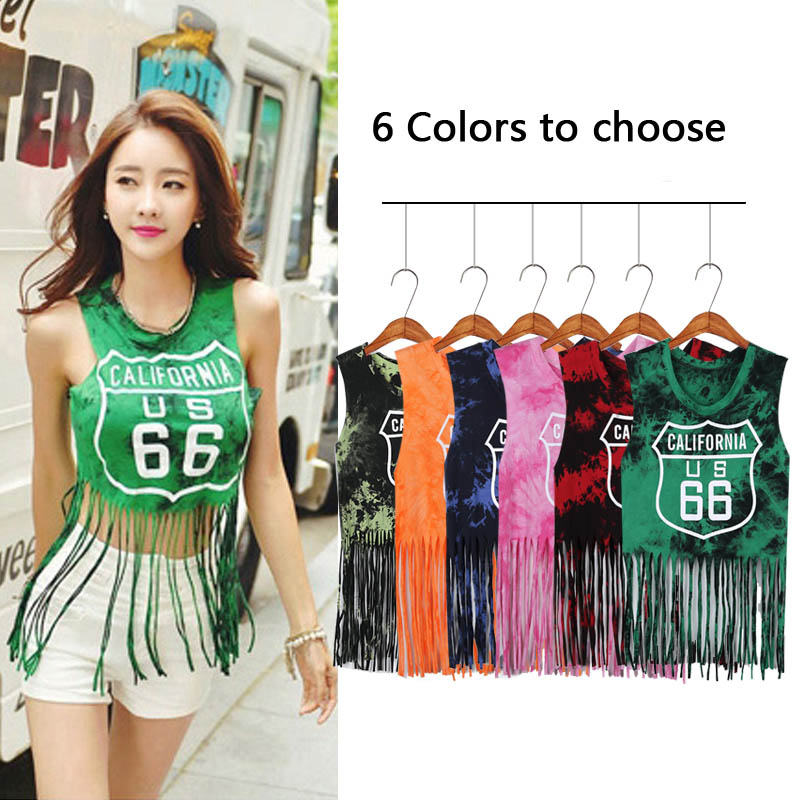 2019 Sexy Jazz Dance Costume Cheerleading Team Dance Stage Clothing dj ds Female Costume Ningclub Top Dance Clothes 6 Colors