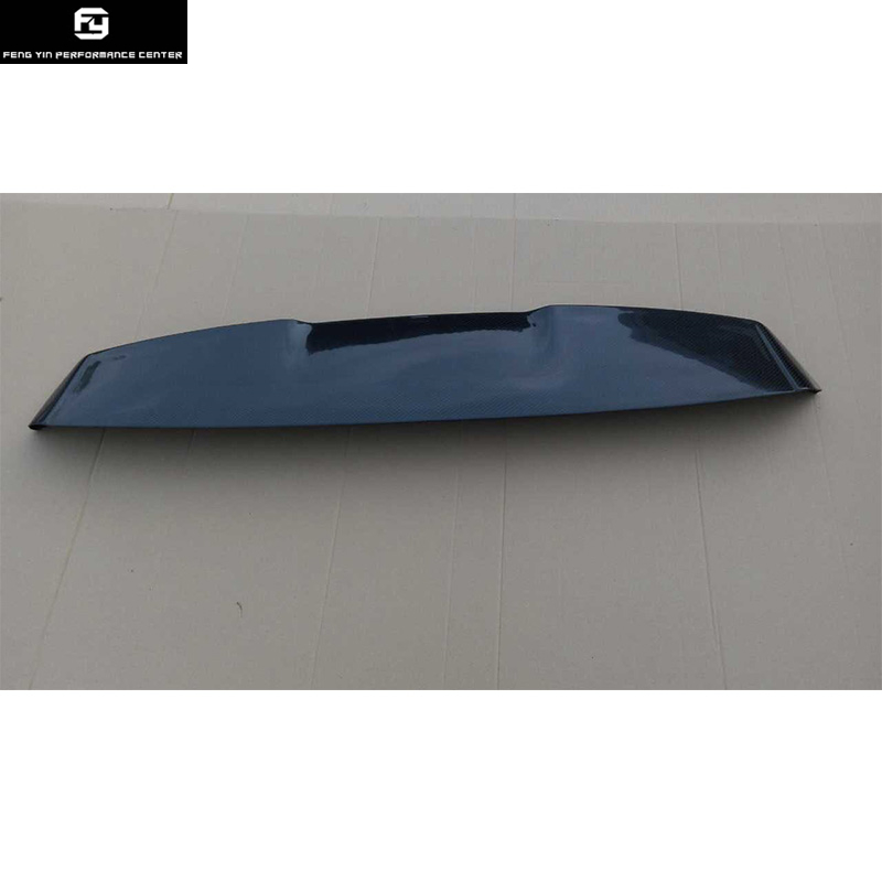 Aileron arrière en Fiber de carbone Golf7 MK7 pour aile de toit Volkswagen VW Golf 7 style 2014UP