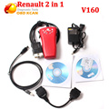 Renault CAN Clip V160 and 3 III Professional Diagnostic Tool 2 In 1 for Ni ssan and Renault update by CD