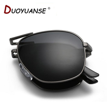 2016 new men polarized sunglasses fashion commodity quality folding sun glasses wholesale A345 glasses and box