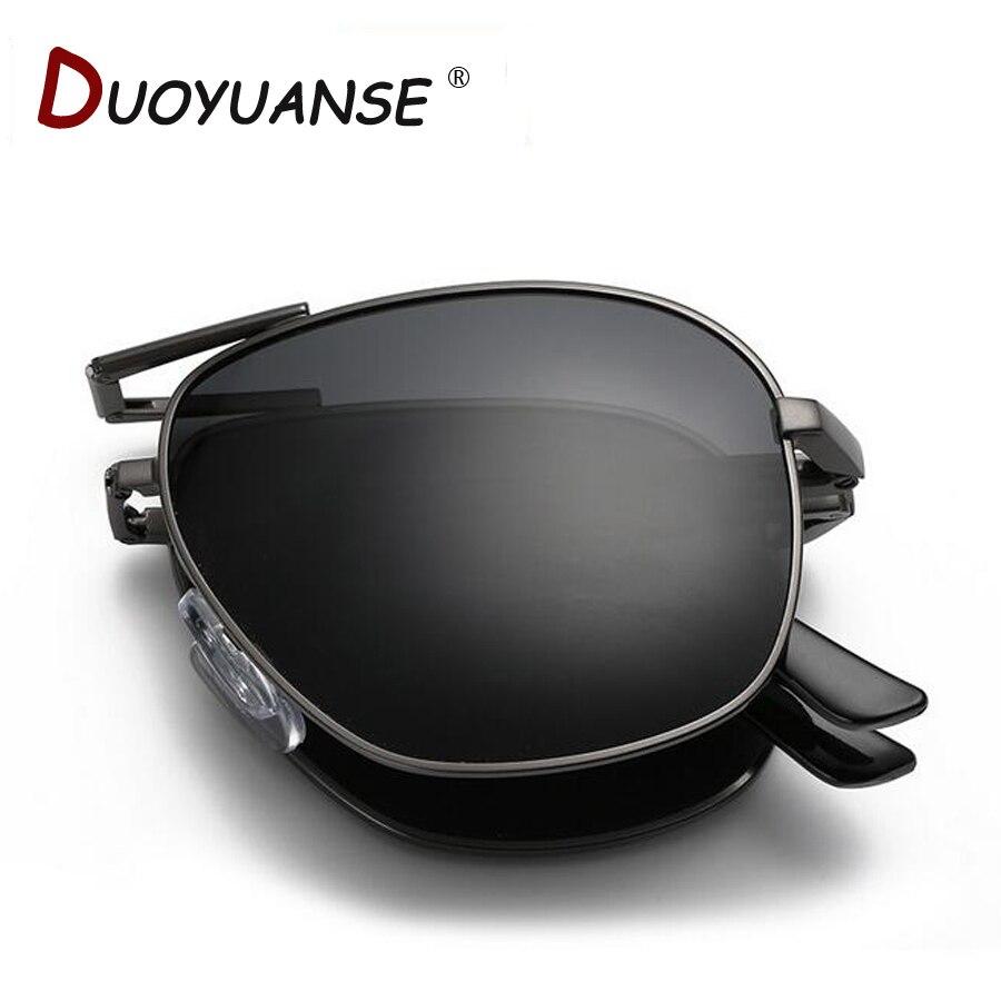 2018 noví muži polarizované sluneční brýle módní komoditní kvalita skládací sluneční brýle velkoobchodní A345 brýle a velkoobchodní krabice