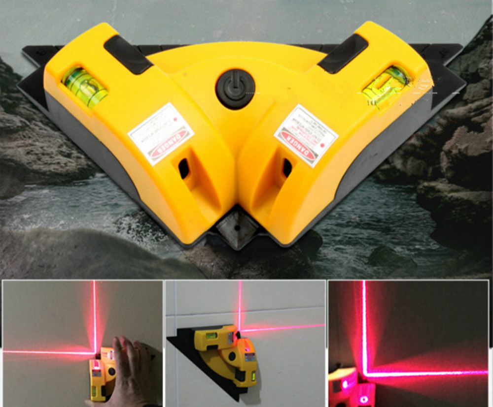 Right Angle 90 Degree Vertical Horizontal Laser Line Projection Square Level infrared foot laser level Measurement tool 2017 стоимость