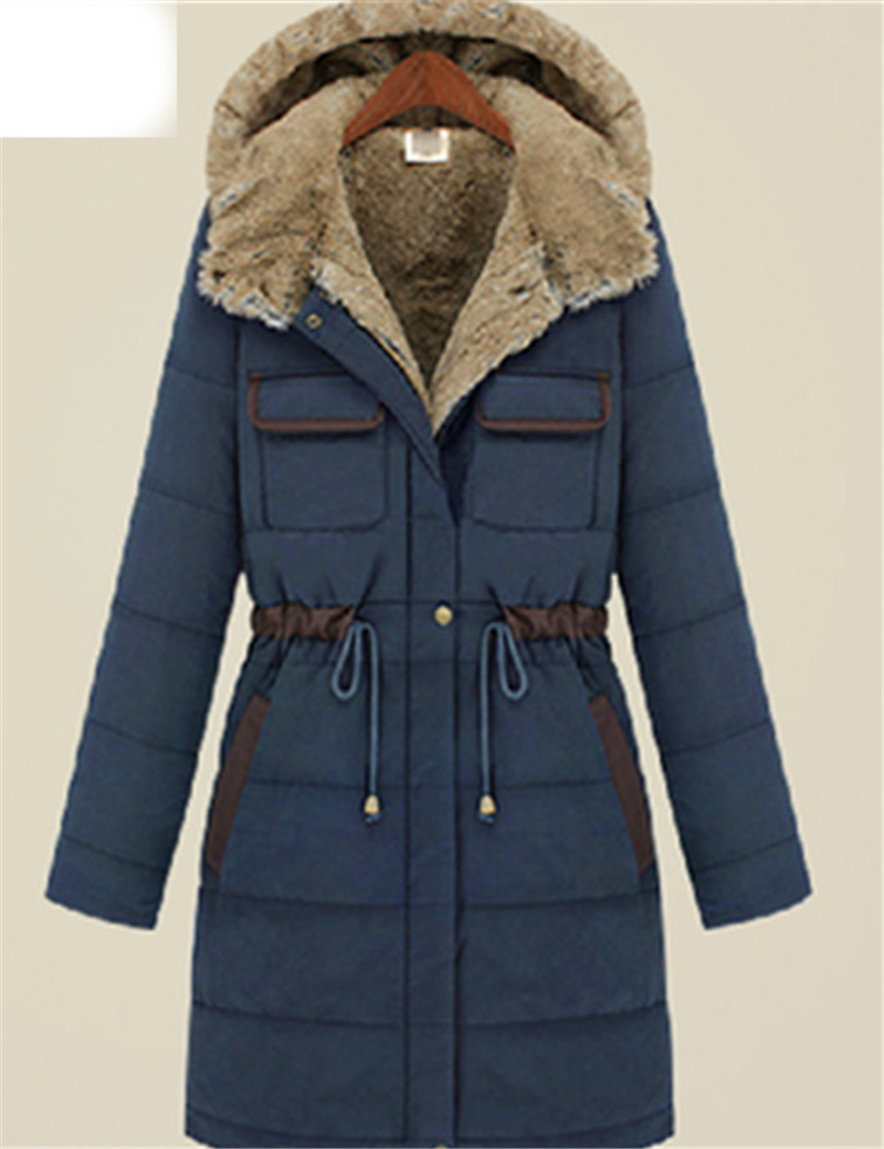 Online Buy Wholesale ladies down long parka navy from China ladies ...