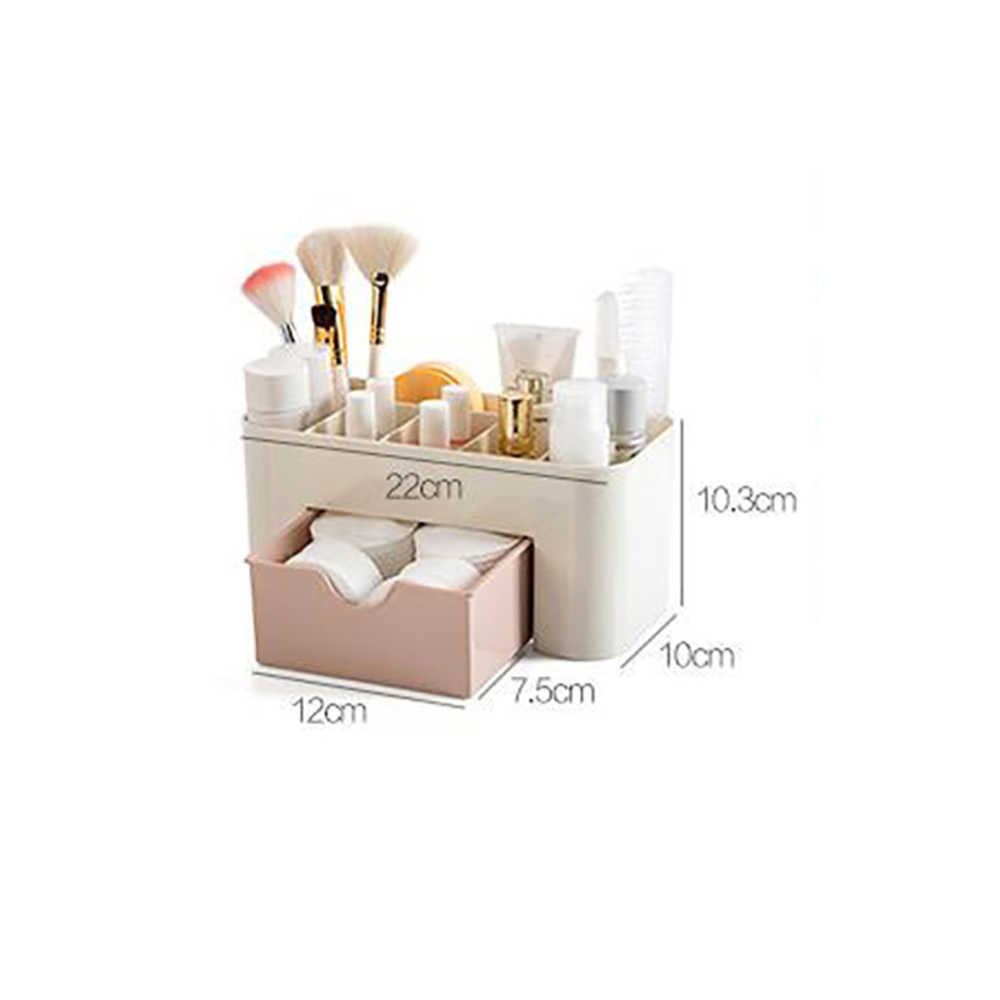 Makeup Box Organizer Jewelry Necklace Earring Plastic Storage Box