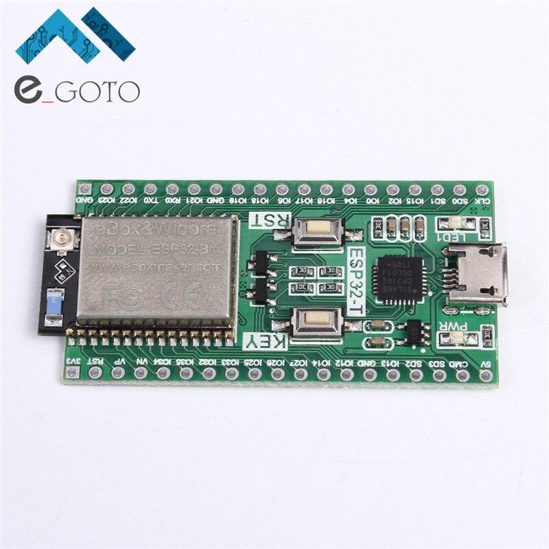 ESP32-T Shield ESP32-Bit Development Board Compatible For ESP-32S Bluetooth WiFi Module Wireless Board Support Linux Window Mac