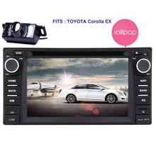 Android5.1.1 for TOYOTA Corolla Car Radio Double Din Stereo GPS Sat Nav Auto Audio Car DVD Player Headunit Wifi/RDS/SD/USB/OBD2