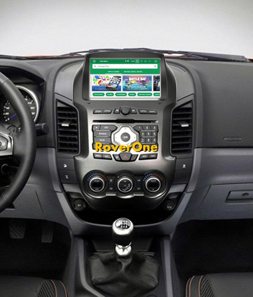 RoverOne S200 Android 8.0 Lecteur Multimédia De Voiture Pour Ford Ranger 2011-2015 Autoradio DVD Radio Stéréo GPS Navigation Sat navi