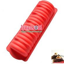 Шифоновый торт для муссов хлеба log hotdog силиконовая форма инструменты для приготовления пищи противень для выпечки Большой