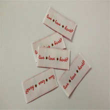 hot deal buy customized garment woven label high density free shipping