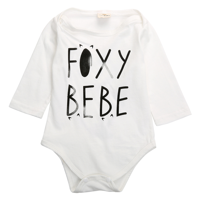 9d5e42962 Cute Newborn Baby Boy Girl Fox Tail Long Sleeve Romper Jumpsuit ...