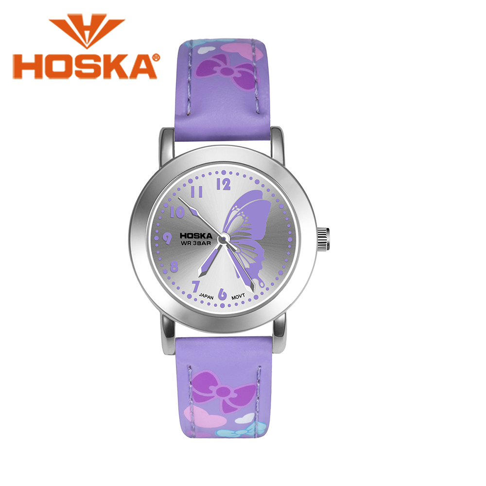 Brand HOSKA children's watches Kids Quartz watch student