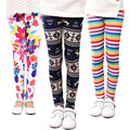 Hot sale Children's Clothing Girls Pants Printing Flower Girls Leggings Toddler Classic Legging  Baby Kids Leggings 2-13Y
