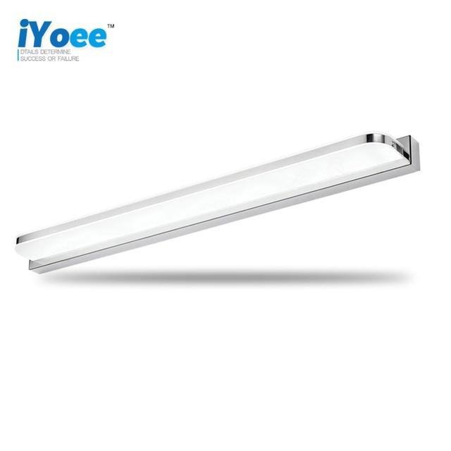 Freeshipping Bathroom LED Mirror Light AC85-265V wireless make up Modern  design Wall Lamps loft style led indoor Light Fixture