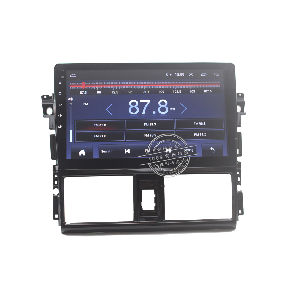 HANG XIAN 10 quot Quadcore Android 8 1 Car radio for Toyota Vios 2014 2016 car dvd player GPS navigation car stereo wifi bluetooth in Car Multimedia Player from Automobiles amp Motorcycles