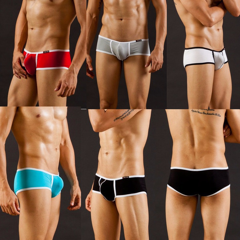 Men's underwear factory wholesale WJ network will be sexy men's underwear briefs modal thin section 3002SJ