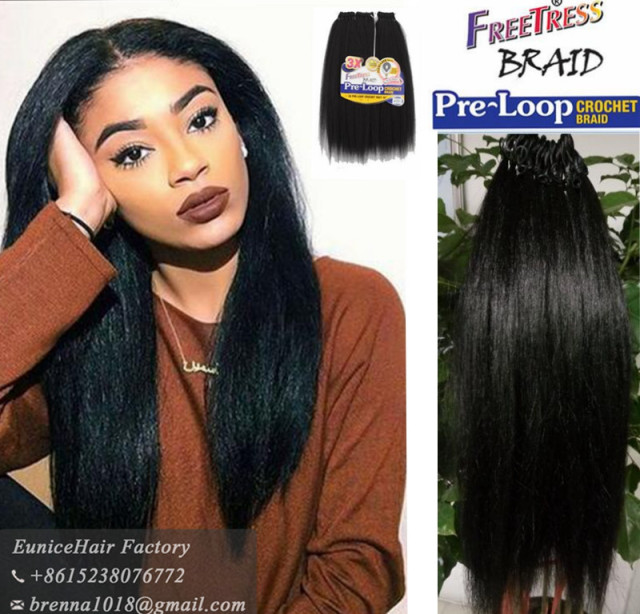 Freetress Synthetic Braid Pre Looped Yaki Braids 100