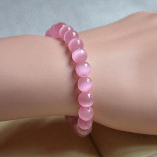 Bracelet Pierre Quartz Rose