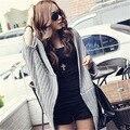 2016 новых леди BianFuShan нерегулярные шаль размер длинные широкий корейский свитер пальто
