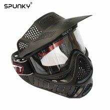 Masque Paintball haute résistance ou Airsoft avec Double lunette