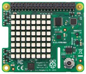 Image 3 - Raspberry Pi SenseHAT with direction , pressure, humidity and temperature sensor