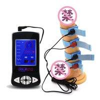 ใหม่ไฟฟ้า Shock Sex Kit Electro Stimulation Cock Peins แหวน Electro Shock อวัยวะเพศชายแหวนนวดเพศของเล่นสำหรับผู้ชาย Medical ของเล่น|electro shock|electric shock sexshock sex -