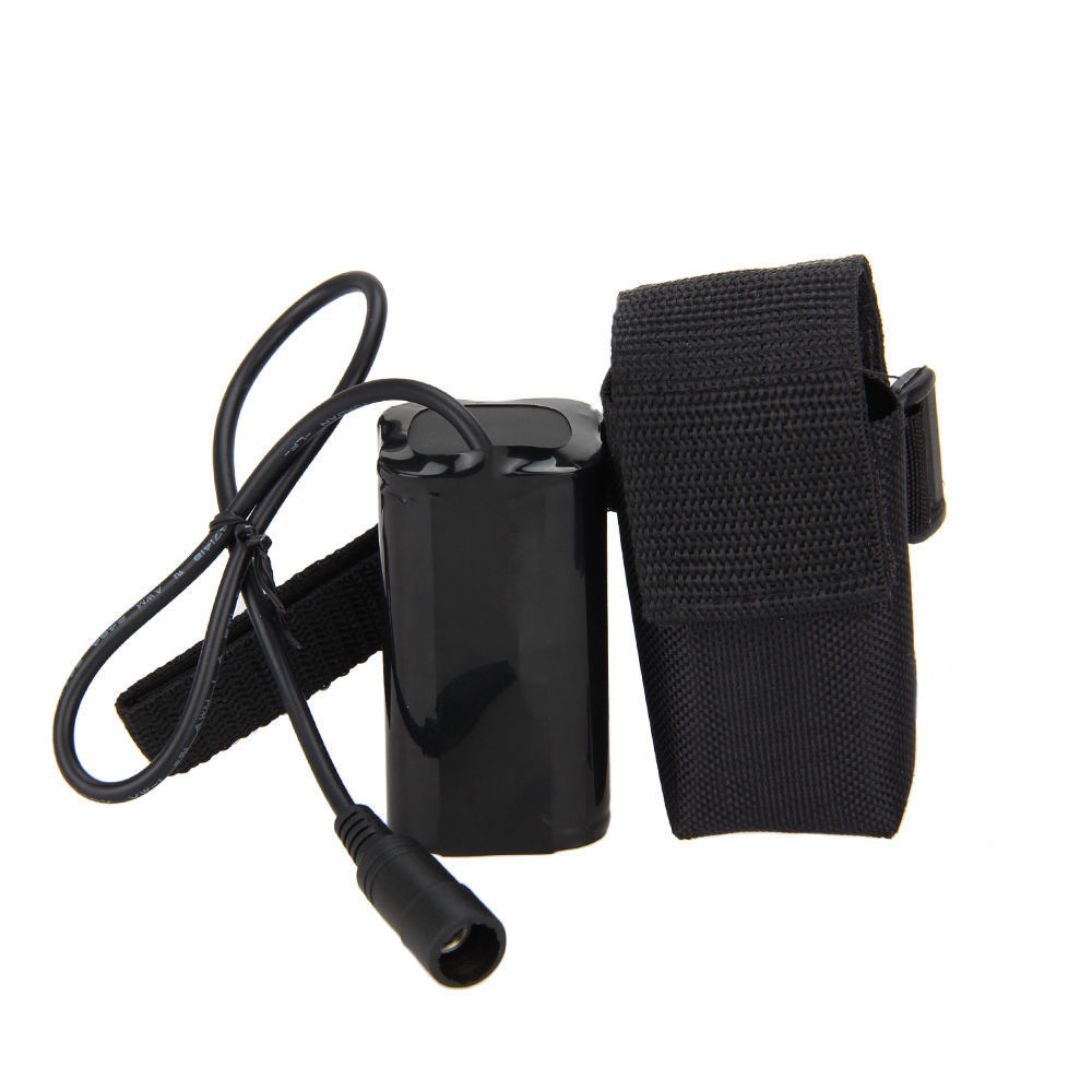 8.4V USB Rechargeable 12000mAh 4X18650 Battery Pack For Bicycle light Bike Torch HOT AUGUST18
