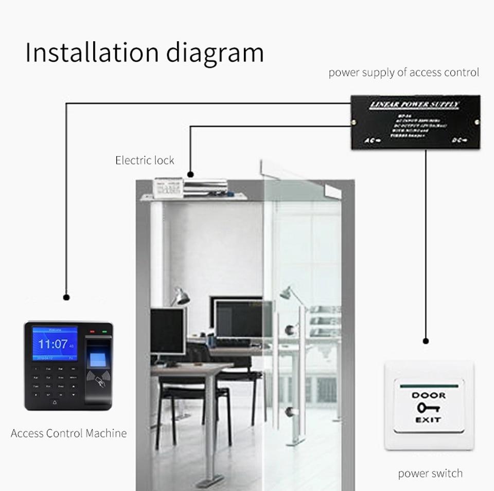 HTB1EAJyaebviK0jSZFNq6yApXXaV BX6 BX10 Biometric Fingerprint Access Control Intercom Machine Digital Electric RFID Code System For Door Lock Keys Tags
