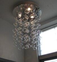 Altura 60 cm Murano Devido Bolha de Vidro Candelabro de Suspensão Lâmpada Pendente Luz moderna sala de estar lâmpada Do Teto Luminaria lâmpada Gu10