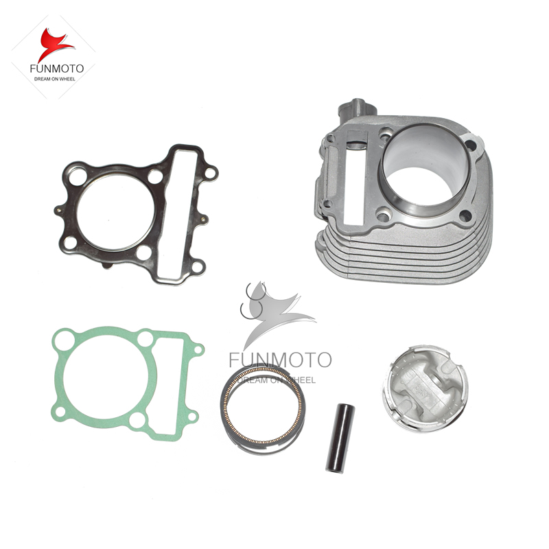 JS171FMM CYLINDER COMPON SET INCLUDE PISTON/PIN/RINGS AND GASKET AND CYLINDER /VALVE SEALING FOR JIANSHE 250 LONCIN 250 JS-FG piston assy 68mm for honda gx200 6 5hp enges free shipping cheap kolben w rings wrist pin
