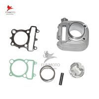 CYLINDER COMPON SET INCLUDE PISTON PISTON PIN RING AND GASKET AND CYLINDER FOR JIANSHE 250 LONCIN