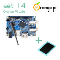 Orange Pi Lite SET14: Orange Pi Lite 512MB and Heat Sink