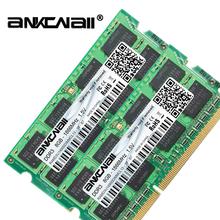 DDR3L RAM 8Gb (2 sztuk x 8 GB) 1866MHz PC3L-14900 dla Intel pamięć laptopa DIMM 1 35V 204Pin tanie tanio ANKOWALL 1866 mhz NON-ECC 10-12-12-31 Dożywotnia Gwarancja 2x dwukanałowy DDR3L 8GB 1 35 V