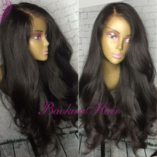 Synthetic Lace Front Wig Natural Body Wave Brazilian Top Quality Hair Heat Resistant Synthetic Wigs For Black/White Women